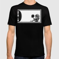 Metroid - The Chozo Geek… Mens Fitted Tee Black SMALL