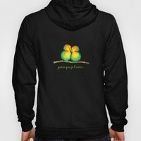 Love Birds on a Branch Hoody