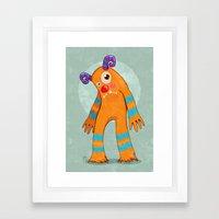Monster-02 Framed Art Print
