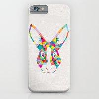Rainbow Rabbit iPhone 6 Slim Case