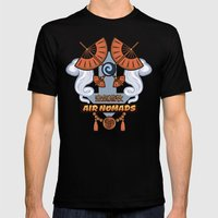 Avatar Nations Series - Air Nomads Mens Fitted Tee Black SMALL