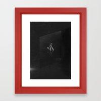 Confine Framed Art Print
