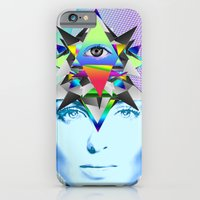 iPhone & iPod Case featuring Psychedelic Woman by Ruben Marcus Luz Paschoarelli