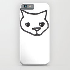 Concerned Cat Slim Case iPhone 6s