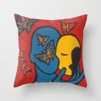 SKIN DEEP  (ORIGINAL SOL… Throw Pillow