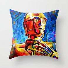 C3P0 Throw Pillow