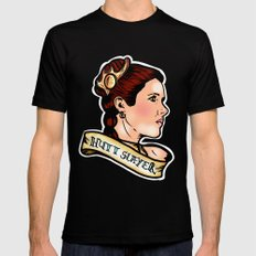 Leia Hutt Slayer Black SMALL Mens Fitted Tee