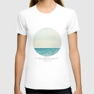 Salt Water Cure Womens Fitted Tee White LARGE