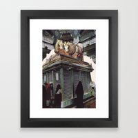 Collage #46 Framed Art Print