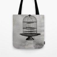 Spaceship Jail Tote Bag
