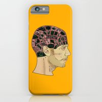 iPhone & iPod Case featuring PHRENOLOGY by Gianluca Floris