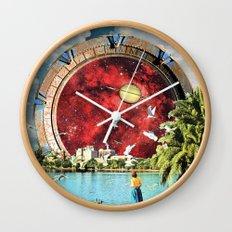 Stargate Installation Wall Clock