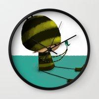I Like Birds Wall Clock