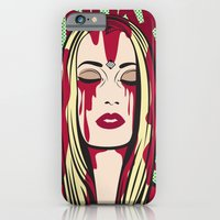 iPhone & iPod Case featuring Spookify by illustrationsbynina