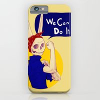 female bunnism iPhone 6 Slim Case