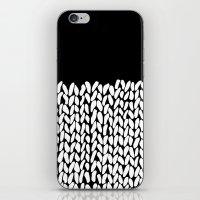 Half Knit iPhone & iPod Skin