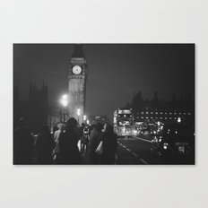 London Tourist Canvas Print