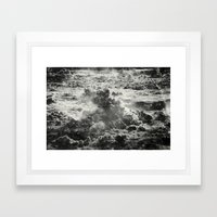 Somewhere Over The Cloud… Framed Art Print