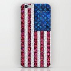 Tribal America - Flag iPhone & iPod Skin