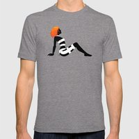 Leeloo Dallas Mudflap Mens Fitted Tee Tri-Grey SMALL