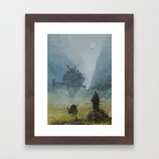 Brothers In Arms - Worlo… Framed Art Print
