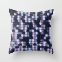 Painted Attenuation 1.4.… Throw Pillow