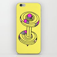 MY.DAILY.WORKOUT iPhone & iPod Skin