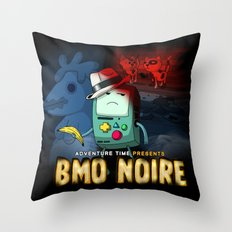 Adventure Time: BMO Noire Throw Pillow