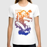 Catrin1 Womens Fitted Tee White SMALL
