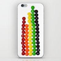 Skittle Stats iPhone & iPod Skin