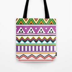 Colouful Aztec Tote Bag