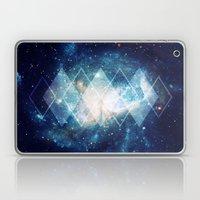 Shining Nebula - Blue Laptop & iPad Skin