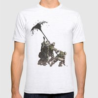 Liberation Mens Fitted Tee Ash Grey SMALL