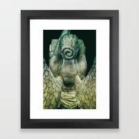 Cemetery Angel -Vert Framed Art Print