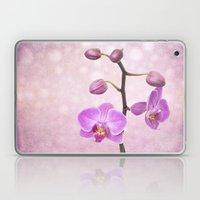 Orchid Tree (textured) Laptop & iPad Skin