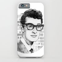 iPhone & iPod Case featuring Buddy Holly 2014 by Daniel Cash