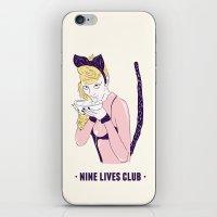 Brashy Cat iPhone & iPod Skin