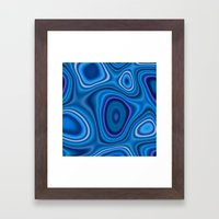 Swirls of Affection Framed Art Print