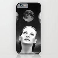 iPhone & iPod Case featuring Phases of the moon by Giwrgos Diamantiis