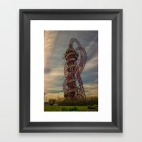 The Orbit London Framed Art Print