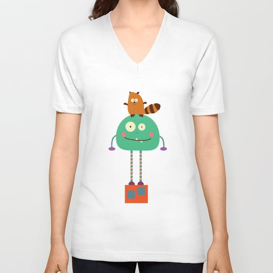 Moncho V-neck T-shirt