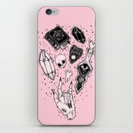 iPhone & iPod Skin featuring Witchcraft by LOll3