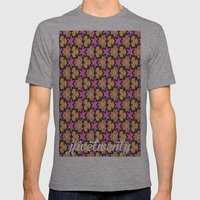 Pattern39 Mens Fitted Tee Athletic Grey SMALL