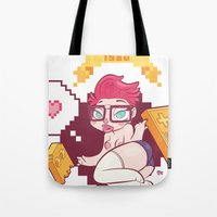 Babes & Videogames  Tote Bag