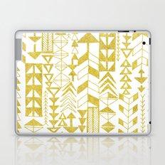 Golden Doodle arrows Laptop & iPad Skin