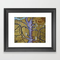 We've Been Connected Fro… Framed Art Print