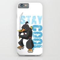Stay Cool Samurai Penguin iPhone 6 Slim Case