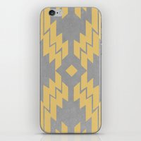 Concrete & Aztec iPhone & iPod Skin