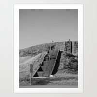 monk's mound Art Print