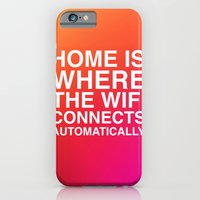 iPhone & iPod Case featuring Home by Old & Brave